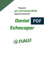 Programa Daniel Echecopar - Ingeniería Comercial