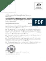 2014_2018 ETD Teaching Staff Enterprise Agreement