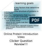 Protein Cell Biology