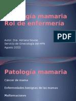 patologia mamaria enfermeria