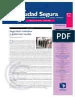 01. Editorial. Sseg ciudadana y gobiernos localeseguridad Ciudadana y Gobiernos Locales. Fernando Carrión (1)