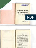 El Esoterismo Cristiano Según La Doctrina Secreta H. P. Blavatsky