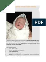 Signos de Alarma en El Recién Nacido