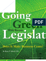 Going Green With Recent Legislation