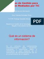 Nury Gonzalez Sistemasdeinformación