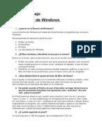 Cuarto Trabajo-Accsesorios de Windows