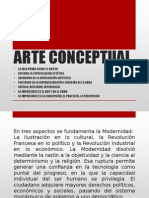 Arte Conceptual Power Point.