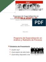 Diseño y Documentacion Procesos