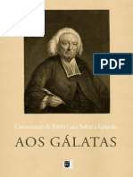 Comentários Aos Gálatas - John Gill
