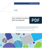 New Frontiers in Pharma R&D Investment