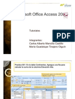 Tutoriales Microsoft Office Access 2007