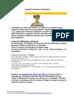 Travail Sur La Presse Française
