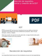 Recoleccion de Requisitos  EDT