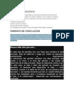 Parrafo introductorio