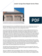 Commonly The Automatic Garage Door Repair Service Plano Is Hefty
