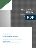RELI 2750 A1