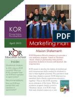 kor document -- mktg 321