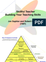 The Skillful Teacher - Map of Pedagogical Knowledge Ver 2