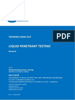 Handout Liquid Penetrant Test Level II - Rev. 3 - 28 August 2009
