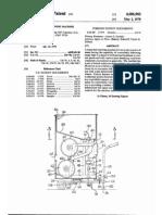 Patente - Máquina lançadora de bolas de tênis