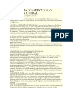 Hegemonia Conservadora y Republica Liberal