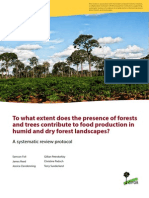 Reed_CIFOR2015_forests and Trees Contribute to Food Production
