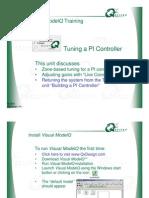 Tuning a PI Controller