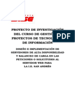 Proyecto de Investigación Servidor Web Domingo 04-10-15