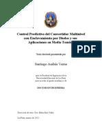 Control Predictivo del Convertidor Multinivel con Enclavamiento por Diodos y sus Aplicaciones en Media Tensión