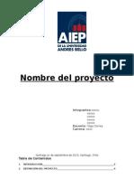 Pauta Informe Idea de Proyecto Jp&Isa