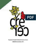 Programa Consejería Territorial Francisco Correa