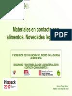 Legislacion Españoila de Embalajes
