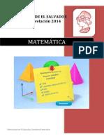 Semana 12 de Matematica Unidad II Volumen de Un Cuerpo Versión PDF