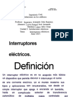 interruptores eléctricos