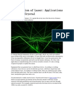 Introduction of Laser Applications of Laser Crystal
