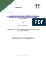 Estudo Do Gene MerA Em Bactérias Gram-negativas Resistentes Ao Mercúrio Isoladas de Ecossistemas Aquáticos Brasileiros Contribuição Para a Mitigação Dos Riscos Do Mercúrio à Saúde Humana Através Da Biorremediação