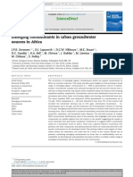 Emerging Contaminants in Urban Groundwater Sources in Africa 2014 Water Research