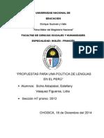 proyecto linguistica