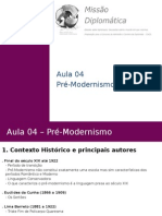 Literatura Aula04 Pr Modernismo 140430090926 Phpapp01