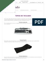 El Teclado _ Tipos de Teclado