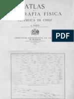 Atlas de la geografía física de la República de Chile