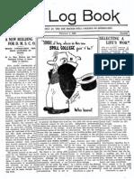 DMSCO Log Book Vol.1 2/1923-6/1924
