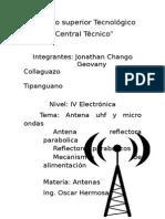 Informe de Antenas