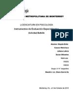 Reporte Psicologico Del Inventario Del Desarrollo de Battelle