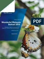 Wonderful Malaysia Berhad - Illustrative Financial Statements 2014