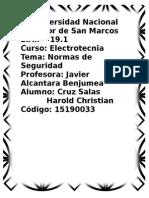 1er Informe Previo Electrotecnia