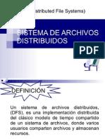 Sistemas de Archivos Distribuidos