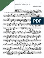 Dvorak - Romance in Fm Op11 Cello-part A