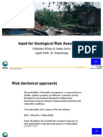 Geological Risk Assessment
