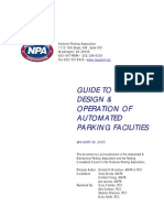 Guide to the Design and Operation of Automated Parking Facilities